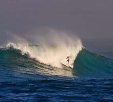 John John Florence at Sunset Beach by Alex Preiss