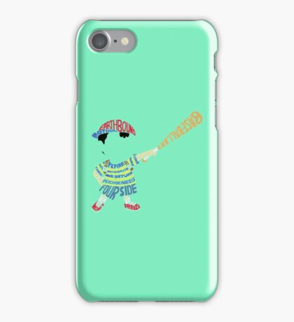 Ness Typography iPhone Case/Skin