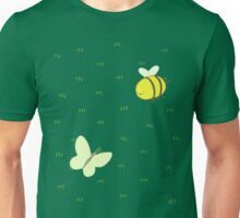 Butterfly and bee Q Unisex T-Shirt