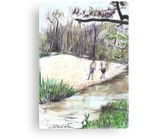 Innot Hot Springs Canvas Print