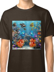Aquarium Sealife Fish Classic T-Shirt