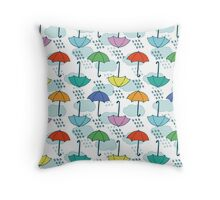 It is rain now.. But I like it! Throw Pillow