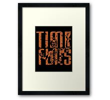 From Time To Time Framed Print