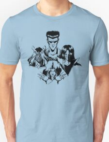 March of the Toguro Team (Black & White) Unisex T-Shirt