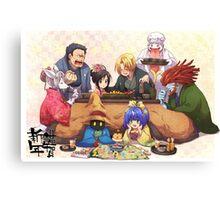 Happy Party Canvas Print