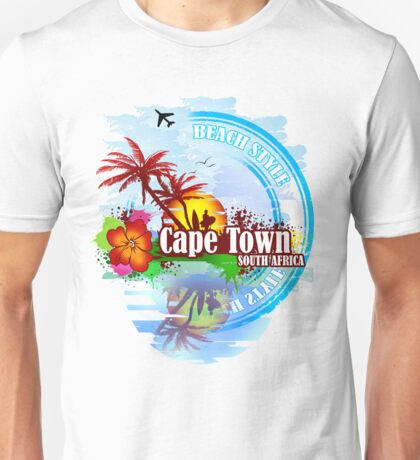Cape Town South Africa Unisex T-Shirt
