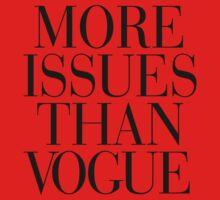 More Issues Than Vogue Kids Clothes