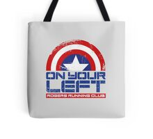 """""""On Your Left"""" Version 01 Tote Bag"""