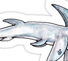 Shark Dog Cartoon Sticker