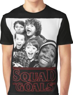 Stranger Things Squad Goals tshirt Graphic T-Shirt