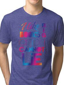 Baby Got Books (Rainbow simple) Tri-blend T-Shirt