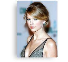 Taylor Swift - Celebrity (Oil Paint Art) Canvas Print