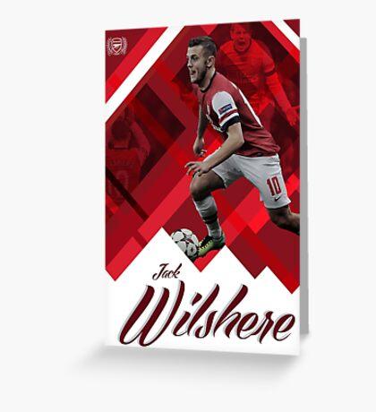 Jack Wilshere Greeting Card