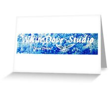 "WHITEDOVE STUDIO...""ISLAND DREAMS"" Greeting Card"