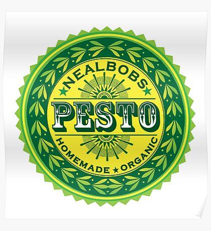 cool pesto graphic Poster