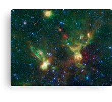 Enterprise Nebulae Without Lines Canvas Print