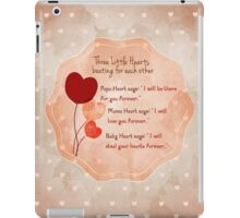 Sweet poem for a new born iPad Case/Skin