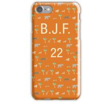 Pattern BJF 22 Darjeeling Limited & Hotel Chevalier iPhone Case/Skin