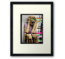 Info Decay Framed Print