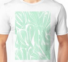 Seafoam & White Pattern Unisex T-Shirt
