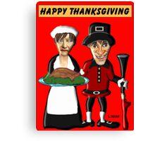 Happy Thanksgiving Y'all Canvas Print