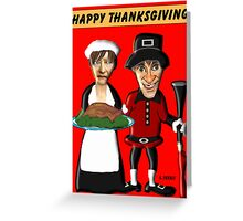 Happy Thanksgiving Y'all Greeting Card