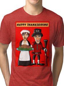 Happy Thanksgiving Y'all Tri-blend T-Shirt
