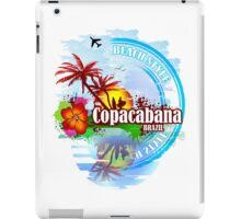 Copacabana Brazil iPad Case/Skin