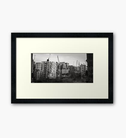 Block Bounded by 13th Street, Broad Street, Arch Street and Race Street Framed Print
