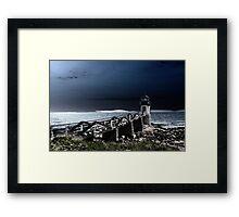 Marshall Point Lighthouse 2 Framed Print