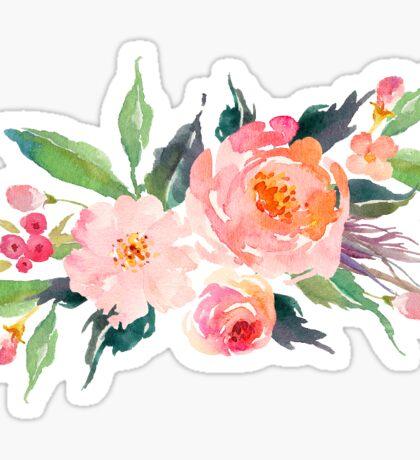 floral flower bunch watercolor Sticker