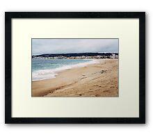 The Widest Beach Framed Print