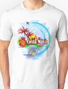 Costa Maya Mexico Unisex T-Shirt