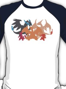 Charizard-evolution   Tshirt T-Shirt