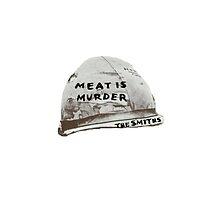 """The Smiths """"Meat is Murder"""" Hat by dottydee"""