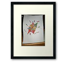 water color design Framed Print