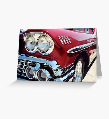 Bright Lights Classic Chrome Photo Greeting Card
