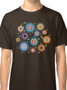 April Flowers with Branches Classic T-Shirt