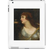 George Romney PORTRAIT OF EMMA HAMILTON AS JOAN OF ARC iPad Case/Skin