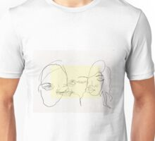 blind drawings Unisex T-Shirt