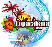 Copacabana Brazil by dejava