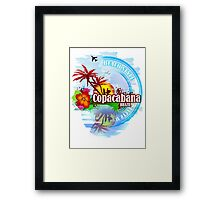 Copacabana Brazil Framed Print