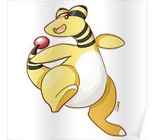 Ampharos - Pokemon Poster