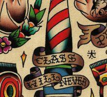 Barber 004 Sticker