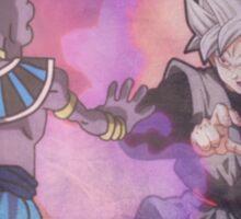 Black Goku VS Bills Sama - Dragon Ball Super Sticker