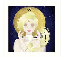 Blond Sun  Art Print