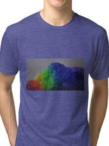 The Rainbow Mountains Tri-blend T-Shirt