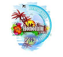 Honolulu Hawaii Photographic Print
