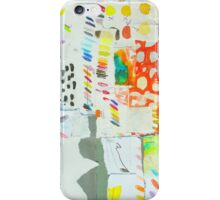 colour chart yellow and orange iPhone Case/Skin