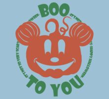 Boo To You Baby Tee